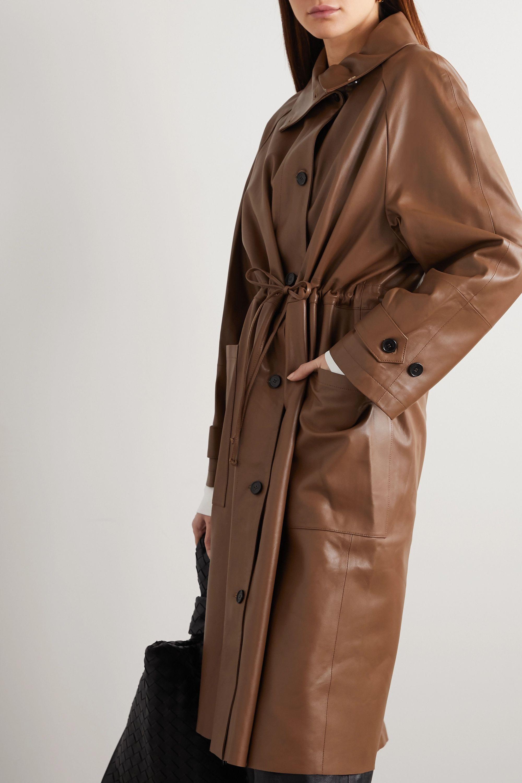 UTZON Leather coat
