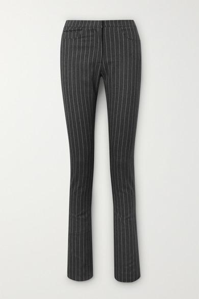 Wallis Pinstriped Woven Slim Leg Pants by 16 Arlington