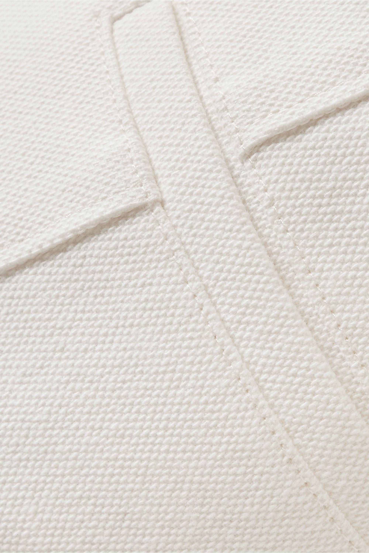 LVIR Cotton-canvas wide-leg pants