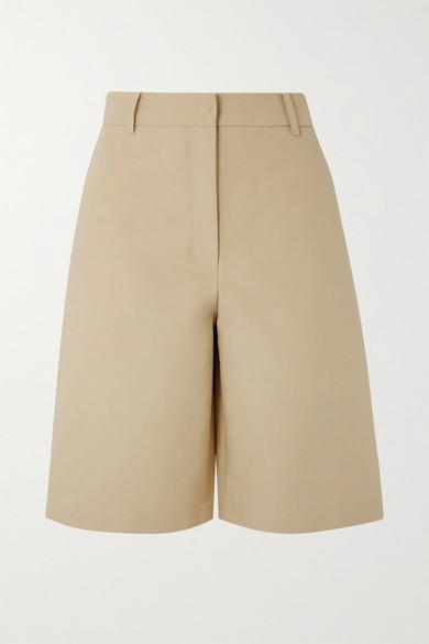 Cotton Poplin Shorts by Lvir