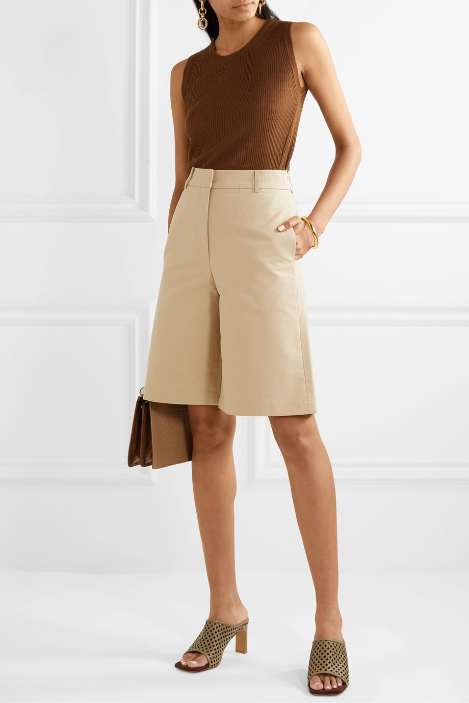 LVIR Cotton-poplin shorts