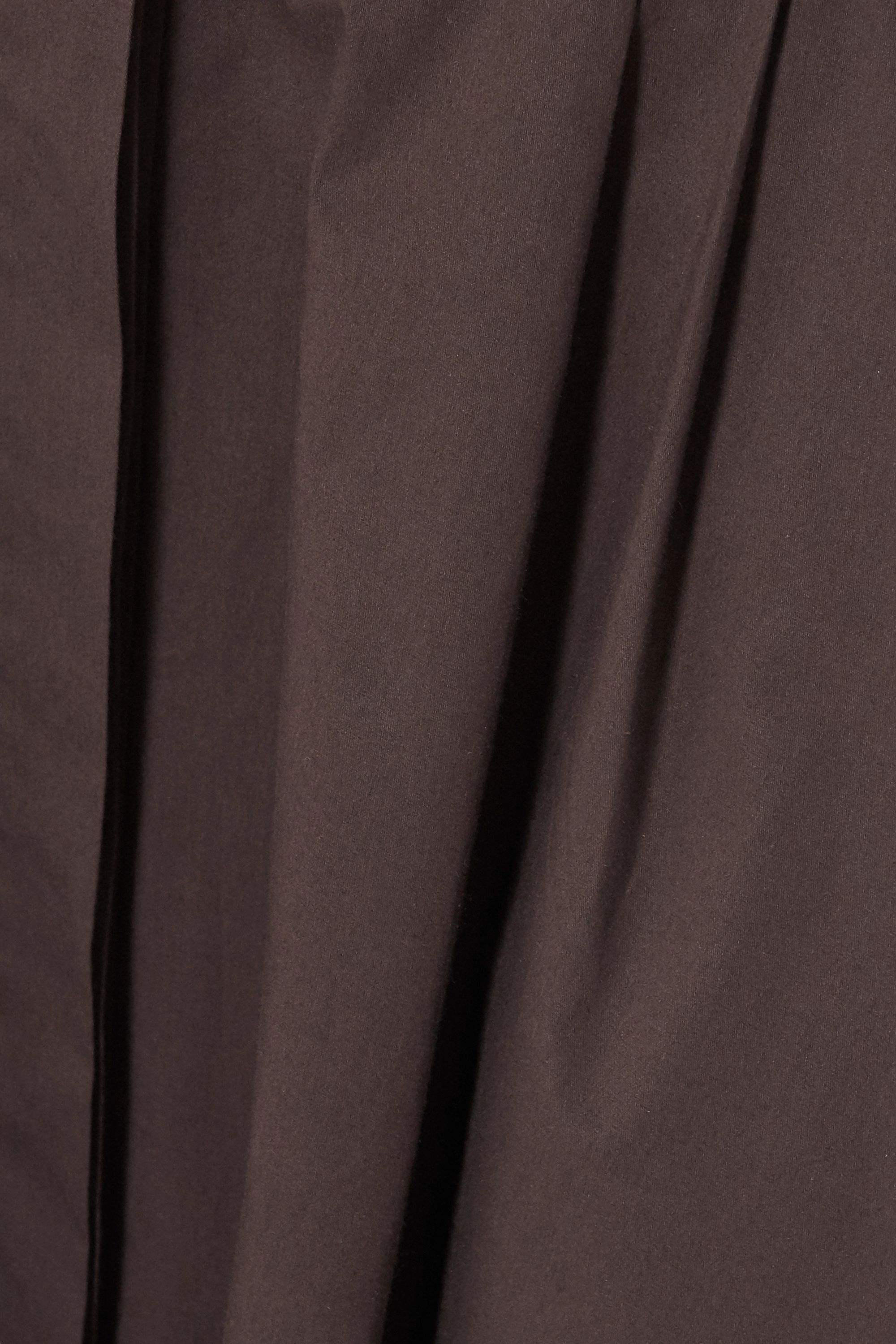Loro Piana Belted stretch-cotton poplin midi shirt dress