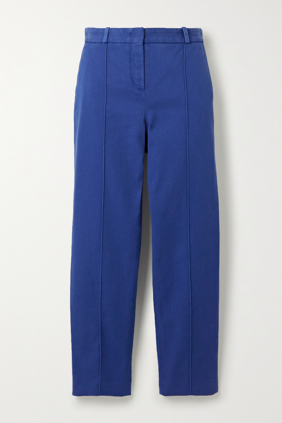 Loro Piana Stretch-cotton twill slim-leg pants