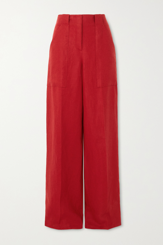 Loro Piana Linen wide-leg pants