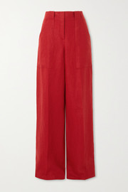 Loro Piana Linen wide-leg pants