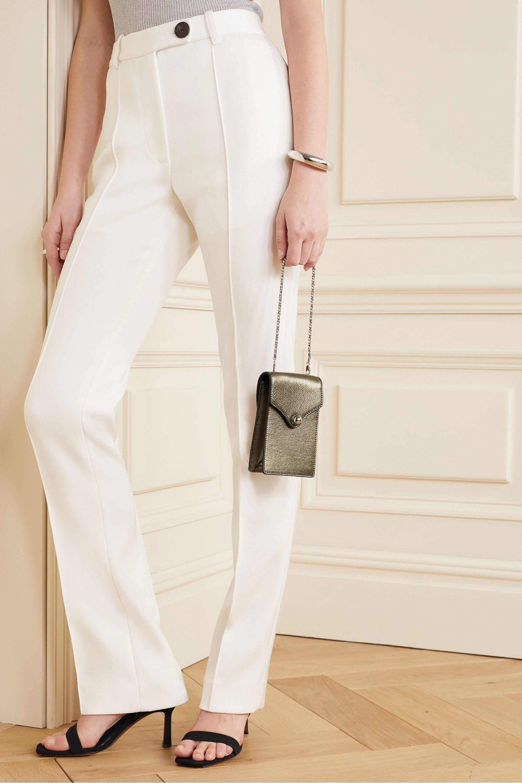 Ratio et Motus Disco mini metallic textured-leather shoulder bag