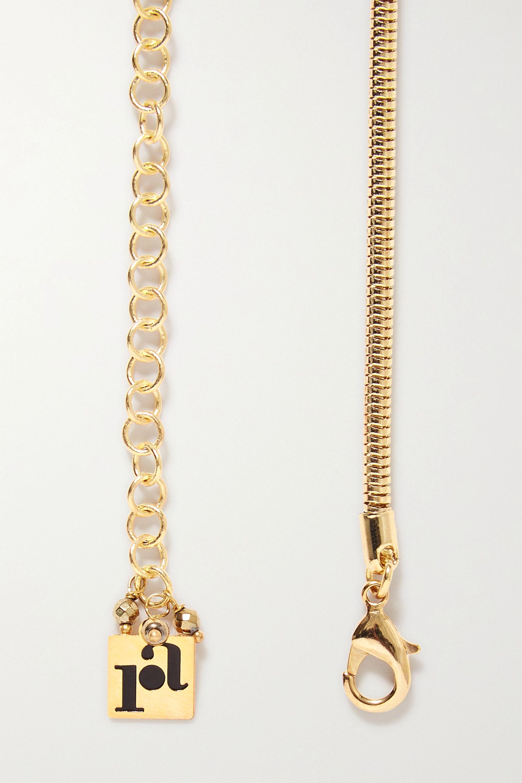 Rosantica Giza gold-tone crystal belt