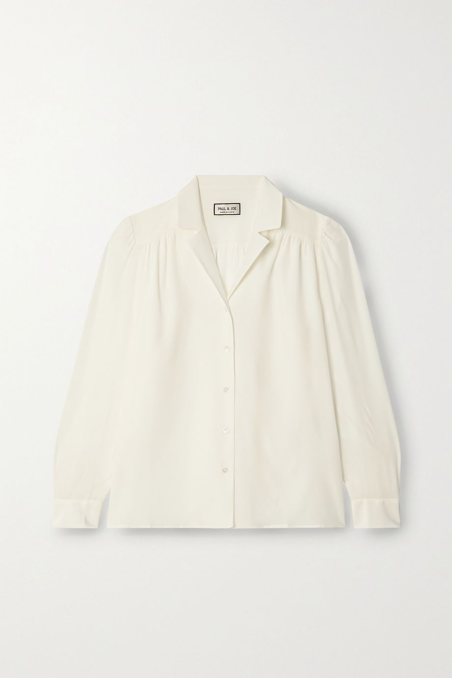 Paul & Joe Silk-georgette blouse