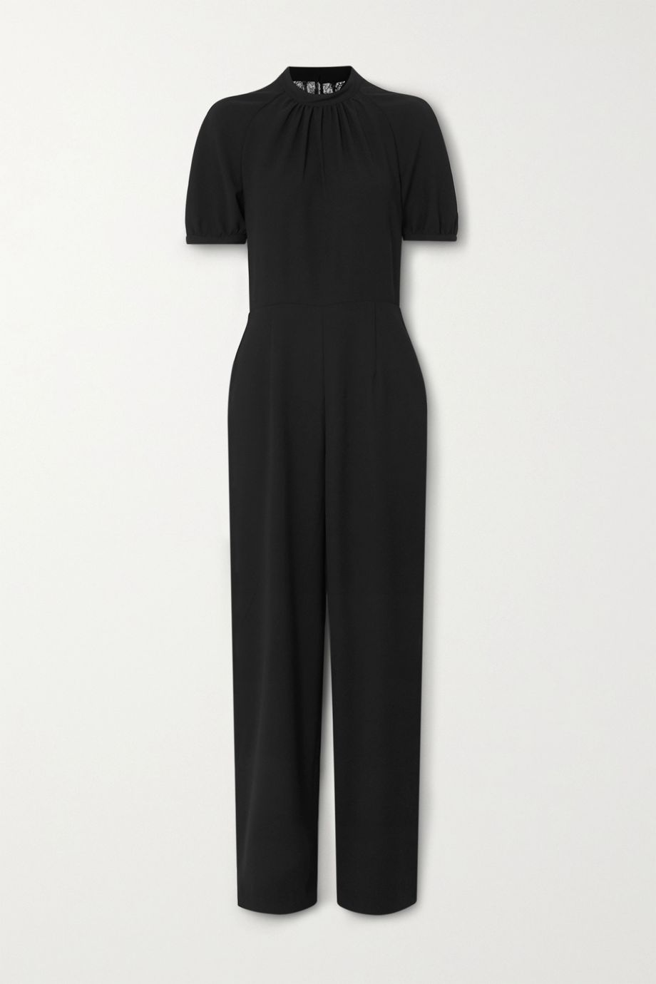 Paul & Joe Havilland lace-paneled crepe jumpsuit