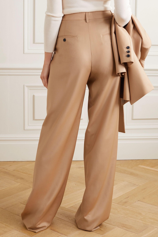 Paul & Joe Pleated wool-blend wide-leg pants
