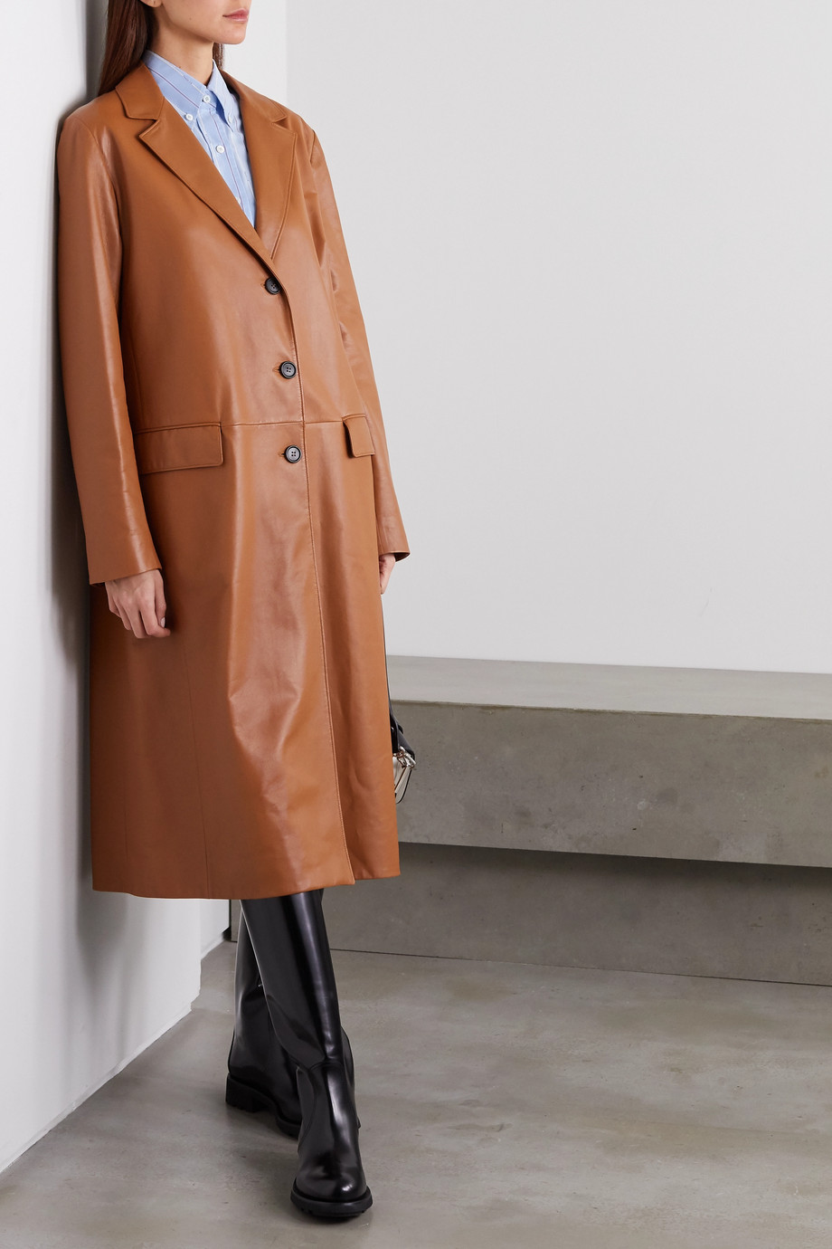 Prada Leather coat