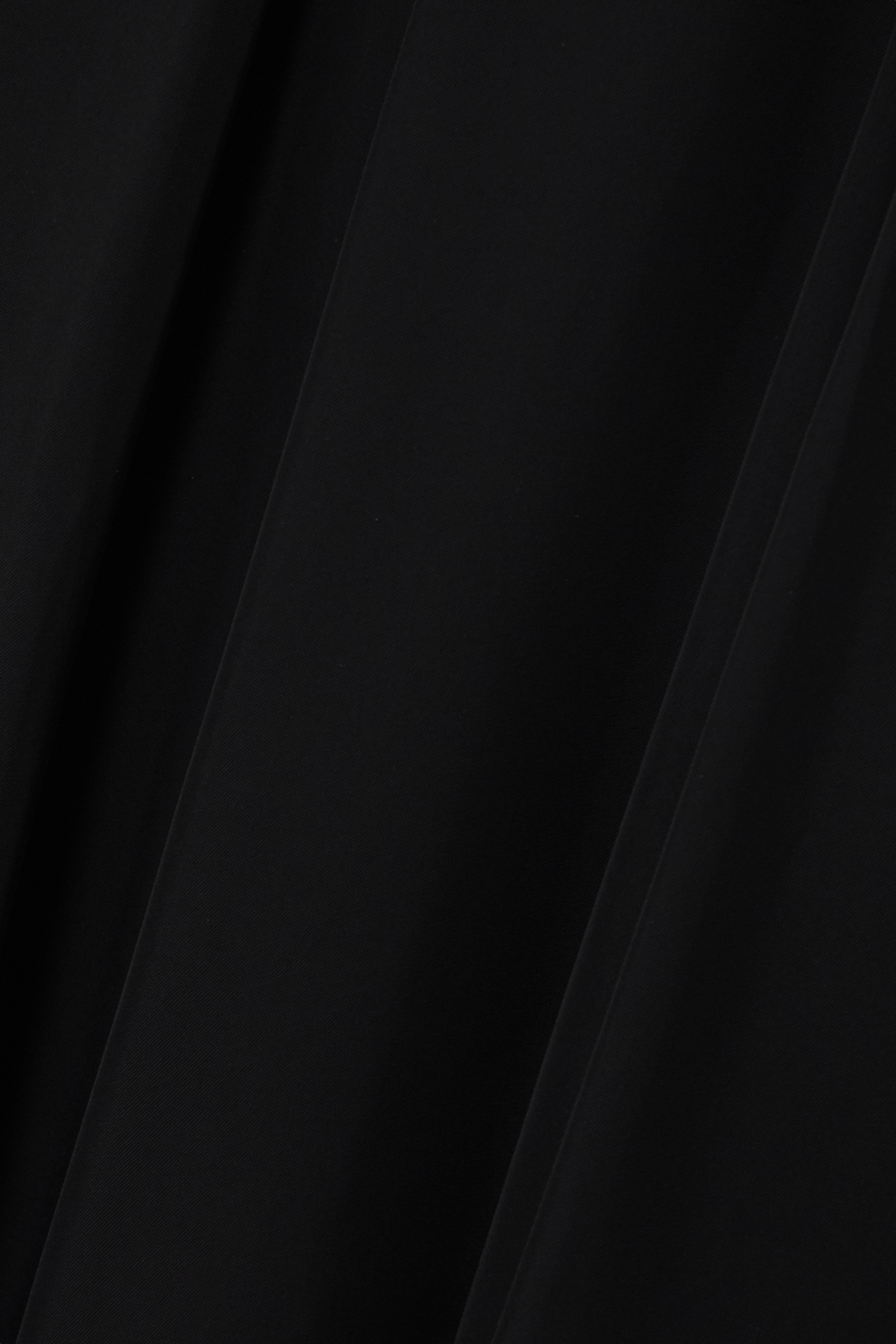 Black Belted Crepe Midi Dress | Prada