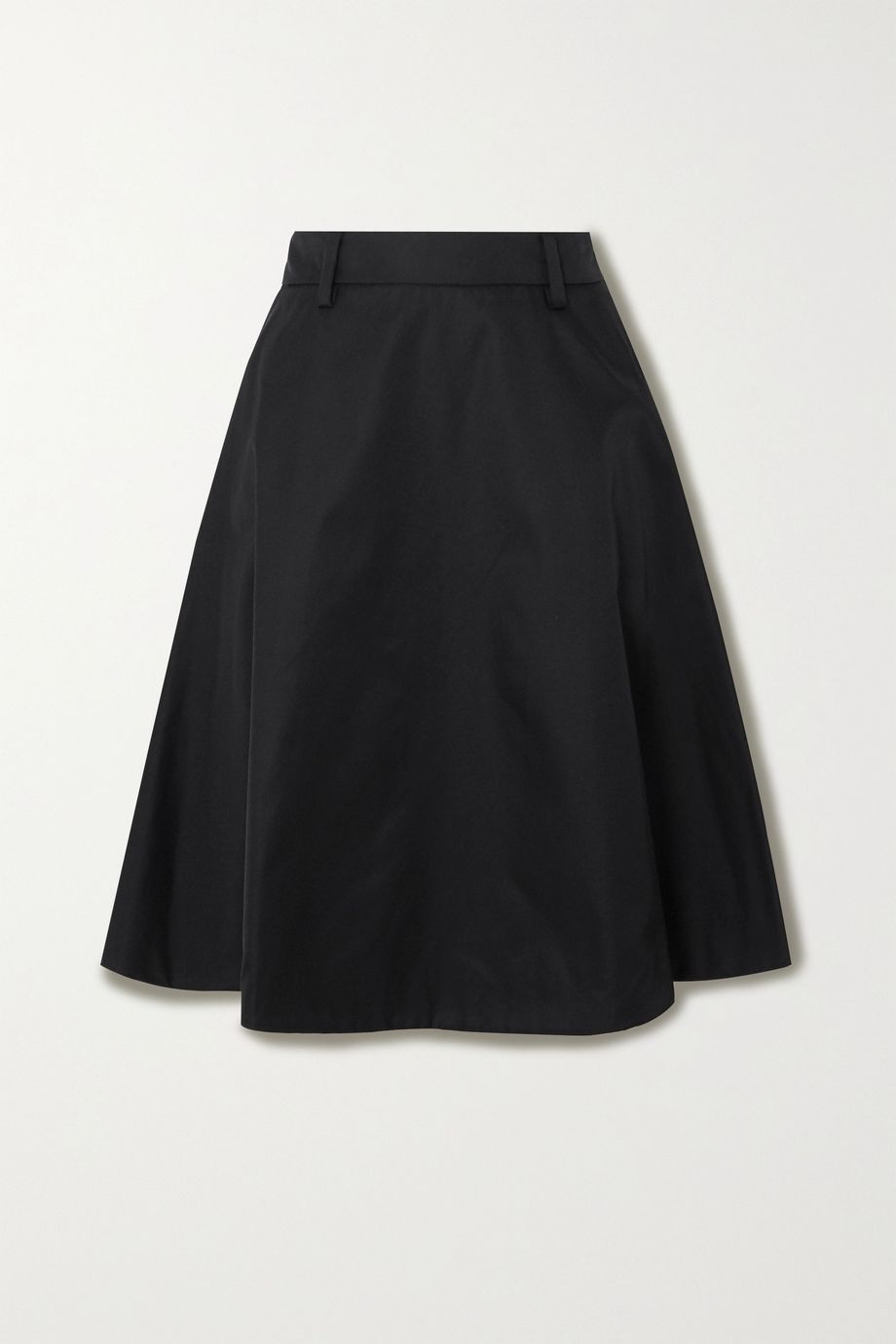 Prada Appliquéd nylon skirt