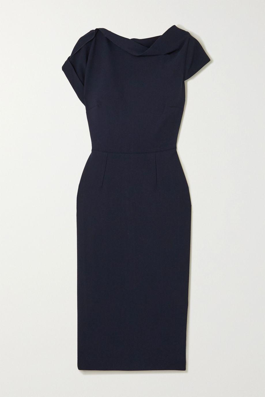 Roland Mouret Brenin crepe dress