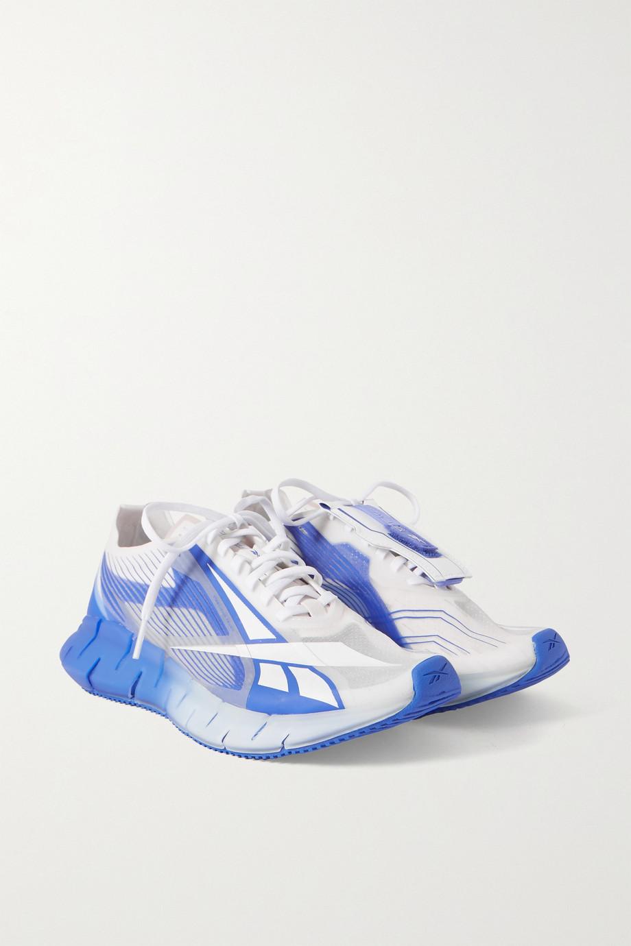Reebok + Cottweiler Zig 3D Storm rubber and mesh sneakers