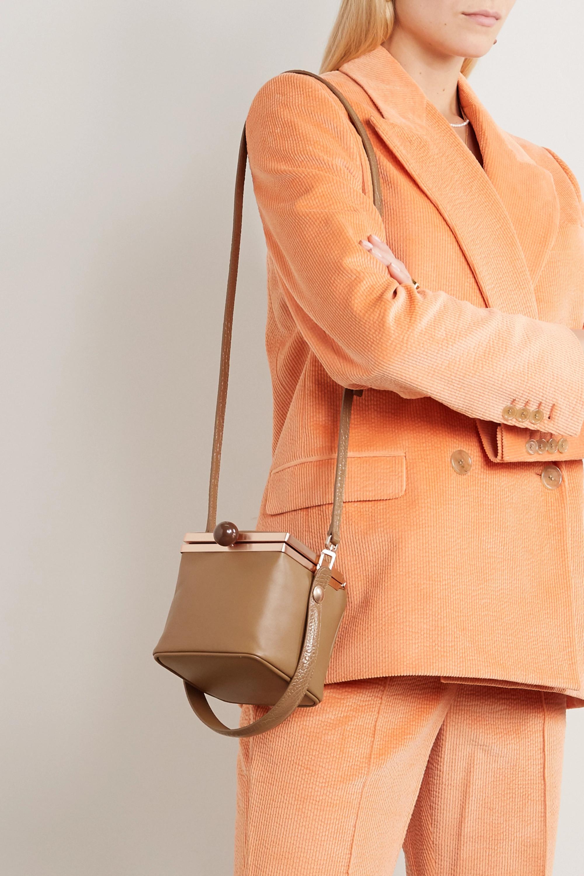 Gu_de Dona leather shoulder bag