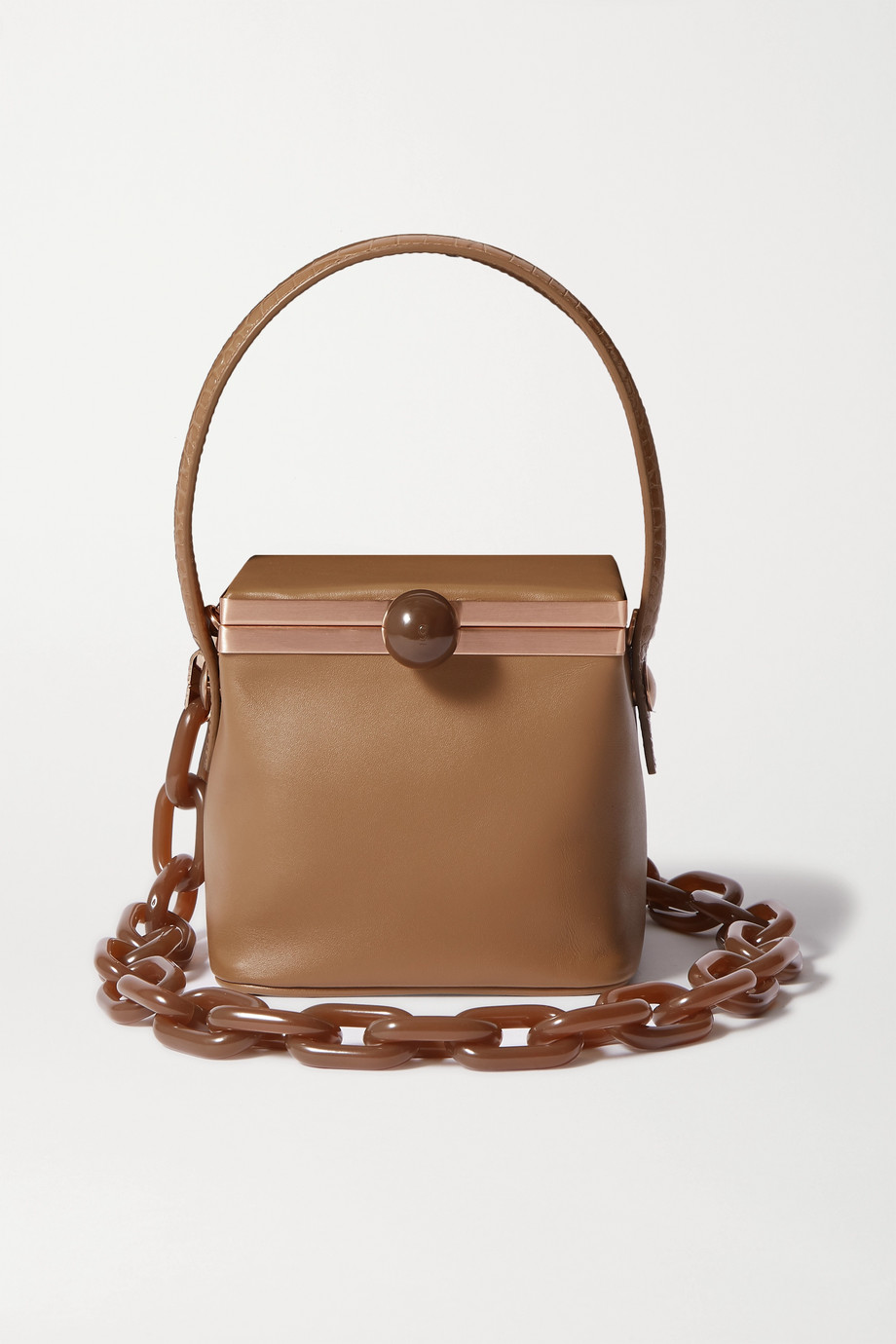 Gu_de Dona leather shoulder bag