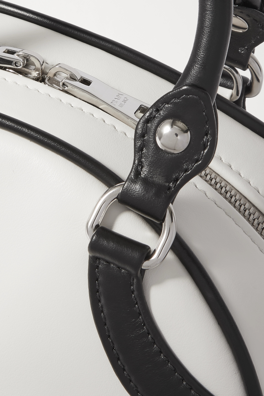 Prada Bowling two-tone leather tote