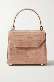 Nancy Gonzalez Lily mini crocodile tote
