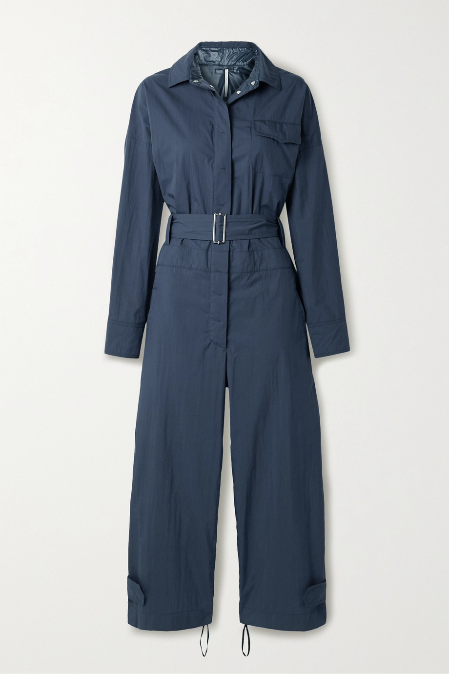 Moncler Genius + 2 Moncler 1952 Tuta belted cotton-blend jumpsuit