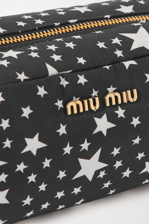 Miu Miu Printed shell cosmetics case