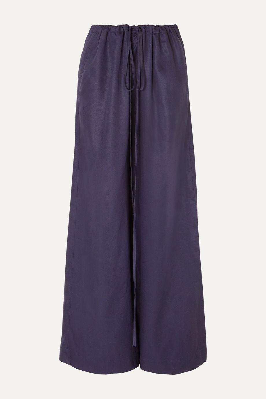 BONDI BORN Lyocell wide-leg pants