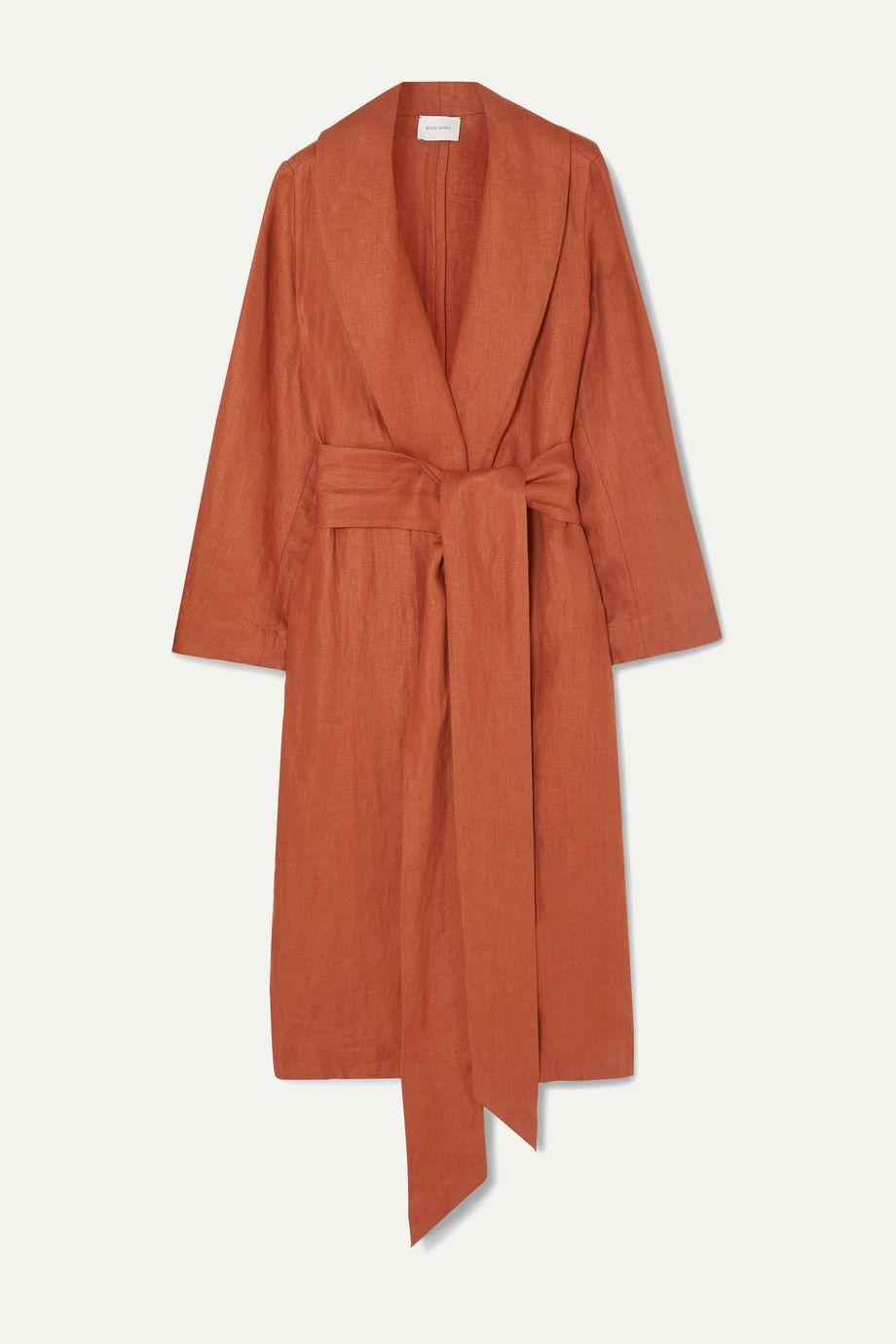 BONDI BORN + NET SUSTAIN Universal linen-twill coat