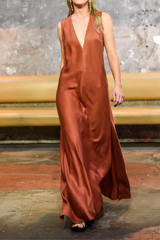 BONDI BORN Lyocell midi dress