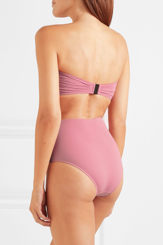 BONDI BORN + NET SUSTAIN Neve tie-front bikini top