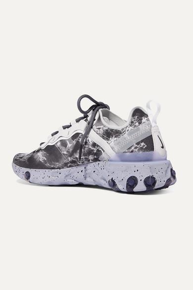 Nike | + Kendrick Lamar React Element 55 Sneakers aus