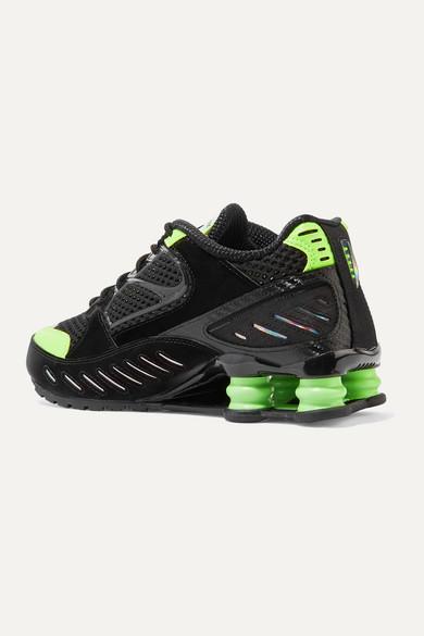 Nike | Shox Enigma Sneakers aus Mesh und changierendem