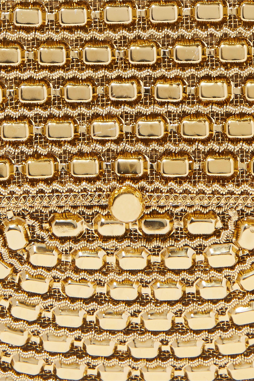 Mae Cassidy The Malini embellished gold-tone tote