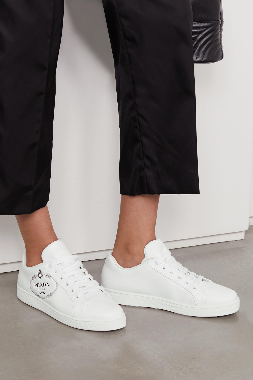 prada quilted sneakers