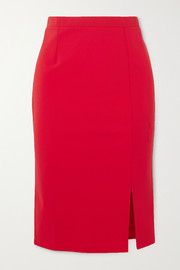 Marcia Romantica stretch-jersey pencil skirt
