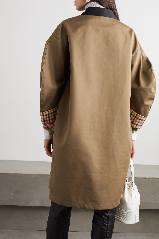 Miu Miu Cotton trench coat