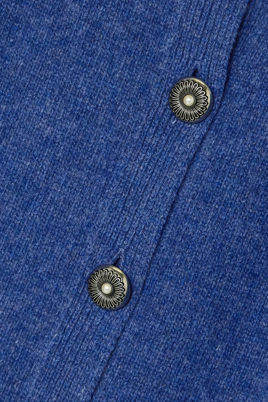 Miu Miu Cardigan aus Wolle mit Fair-Isle-Muster