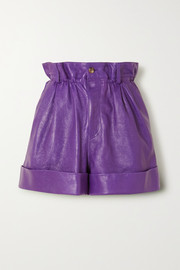 Miu Miu Leather shorts