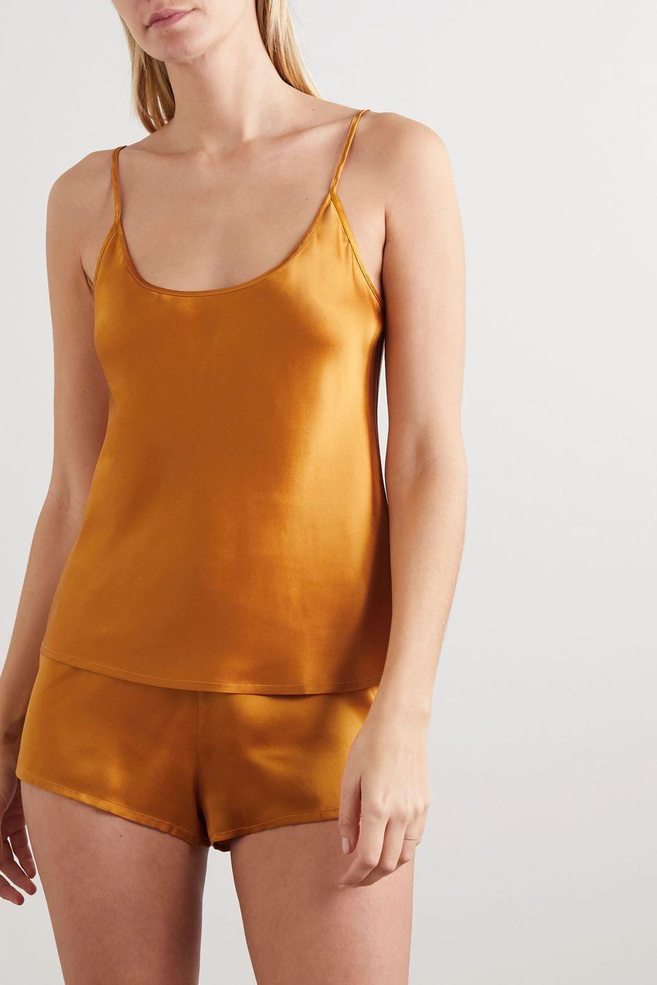 La Perla 丝缎睡衣套装