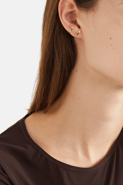 Hirotaka 10-karat gold ear cuff