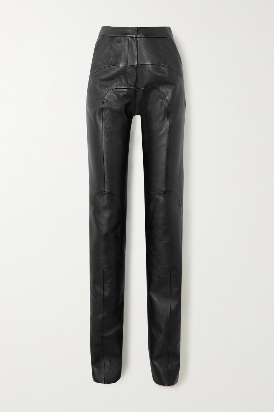 MATERIEL Paneled faux leather straight-leg pants