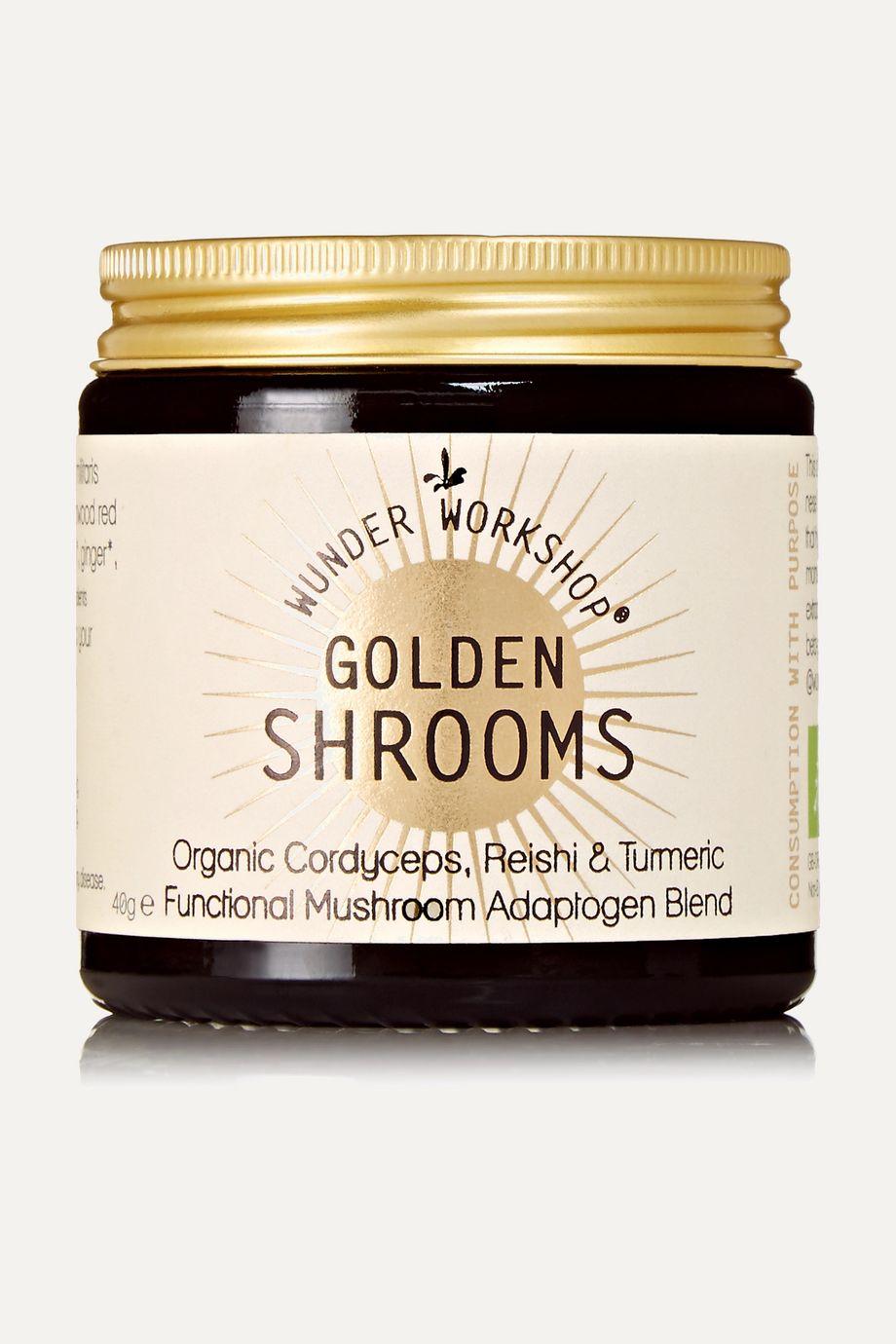 Wunder Workshop Golden Shrooms Supplement, 40g