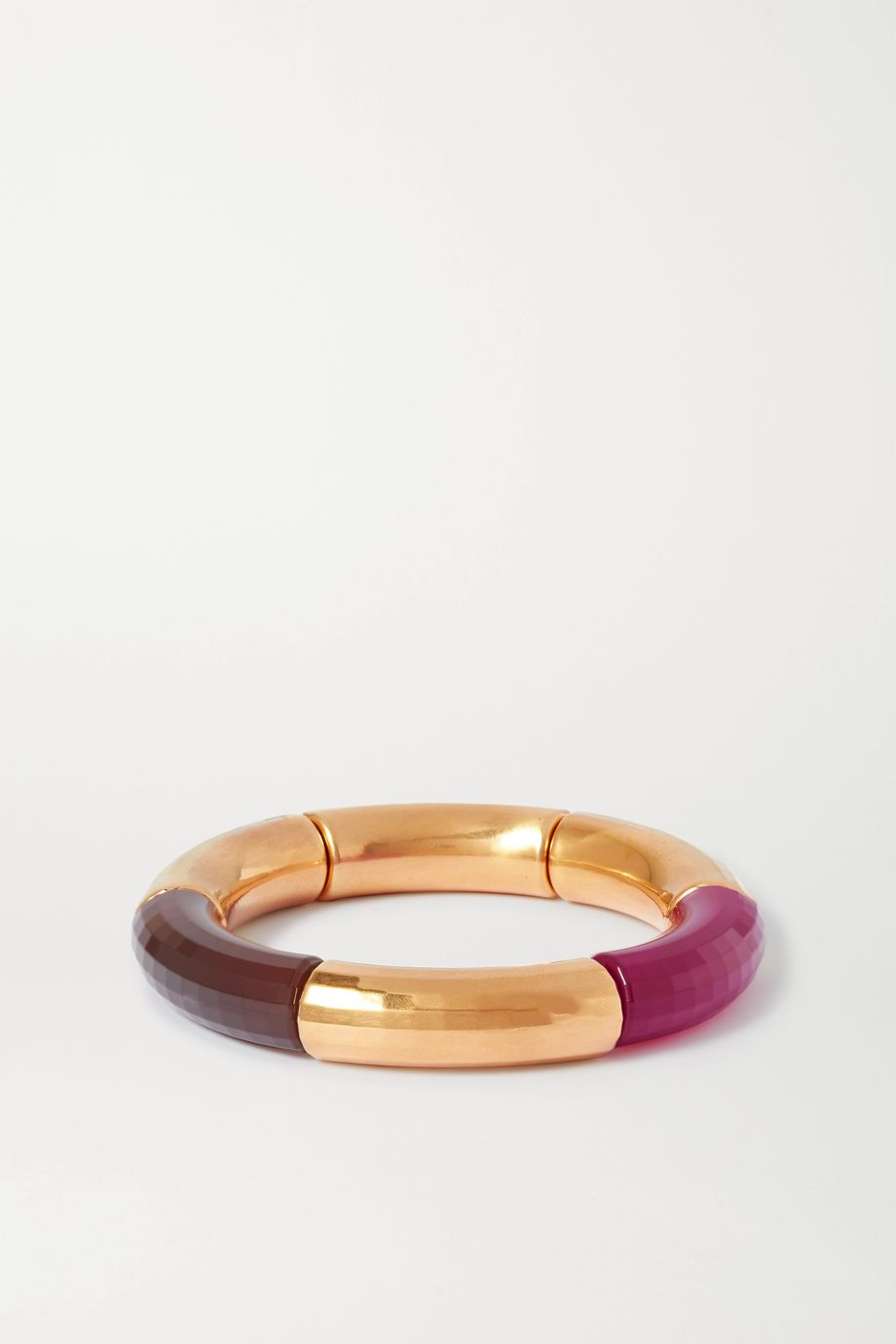 Kyoto Tango Female Emancipation gold-plated and resin bangle
