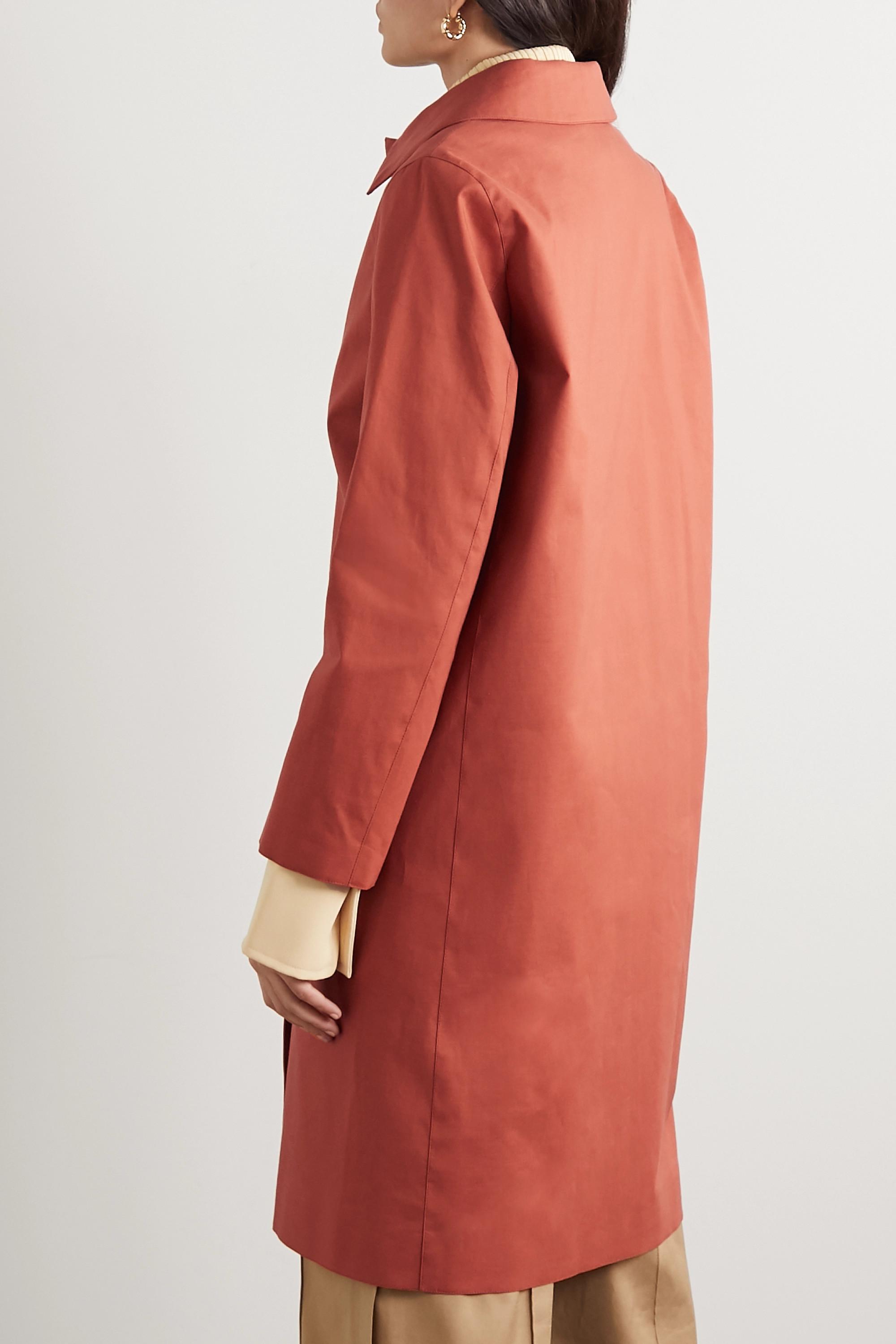Mackintosh Dunkeld bonded cotton coat