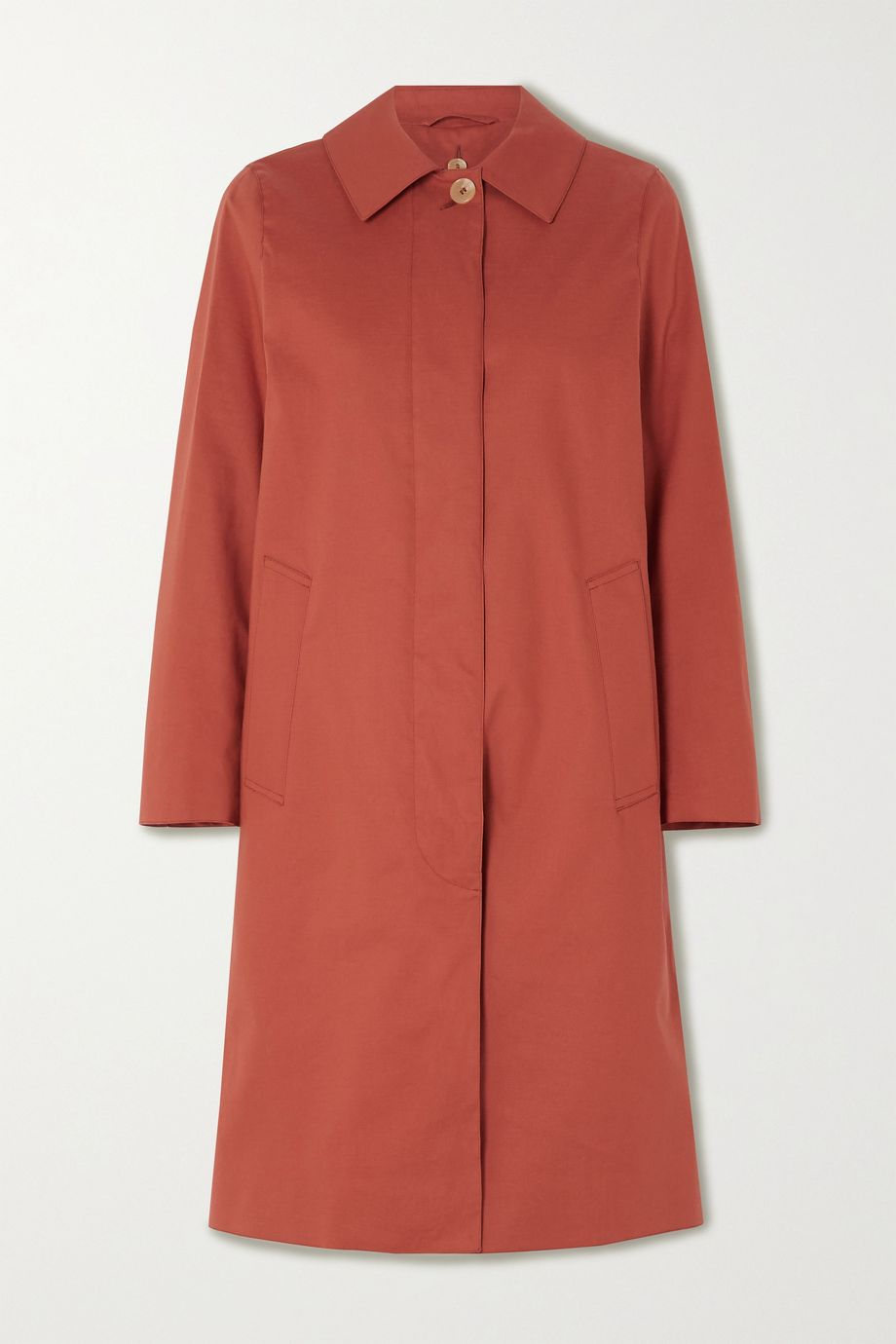 Mackintosh Dunkeld bonded cotton coat