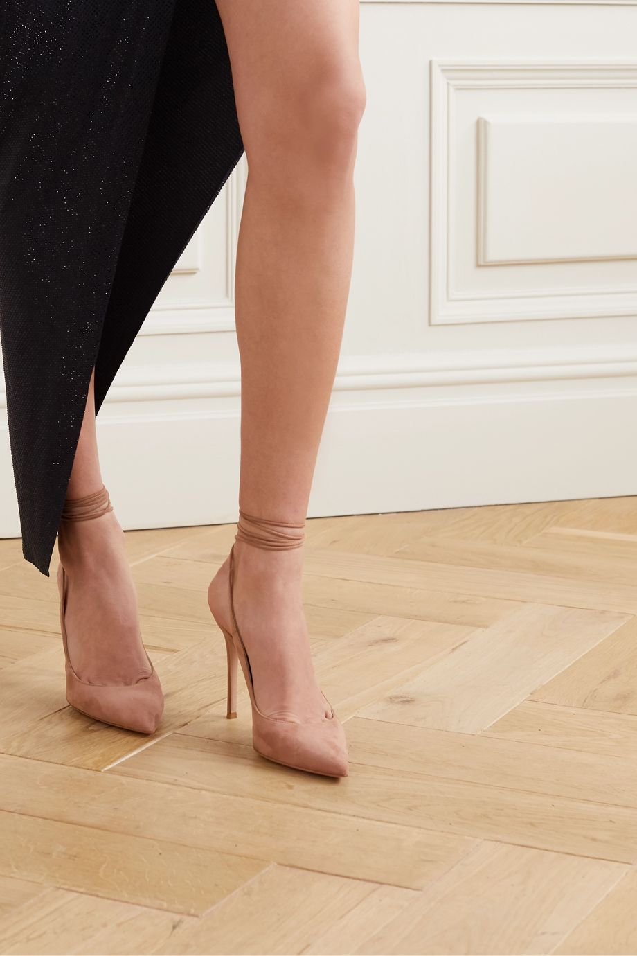 Gianvito Rossi 105 suede pumps