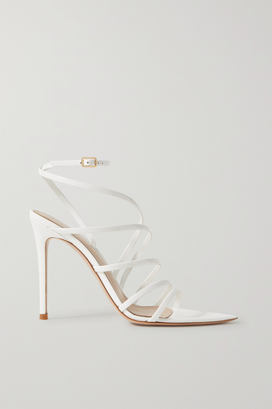 Gianvito Rossi 105 patent-leather sandals