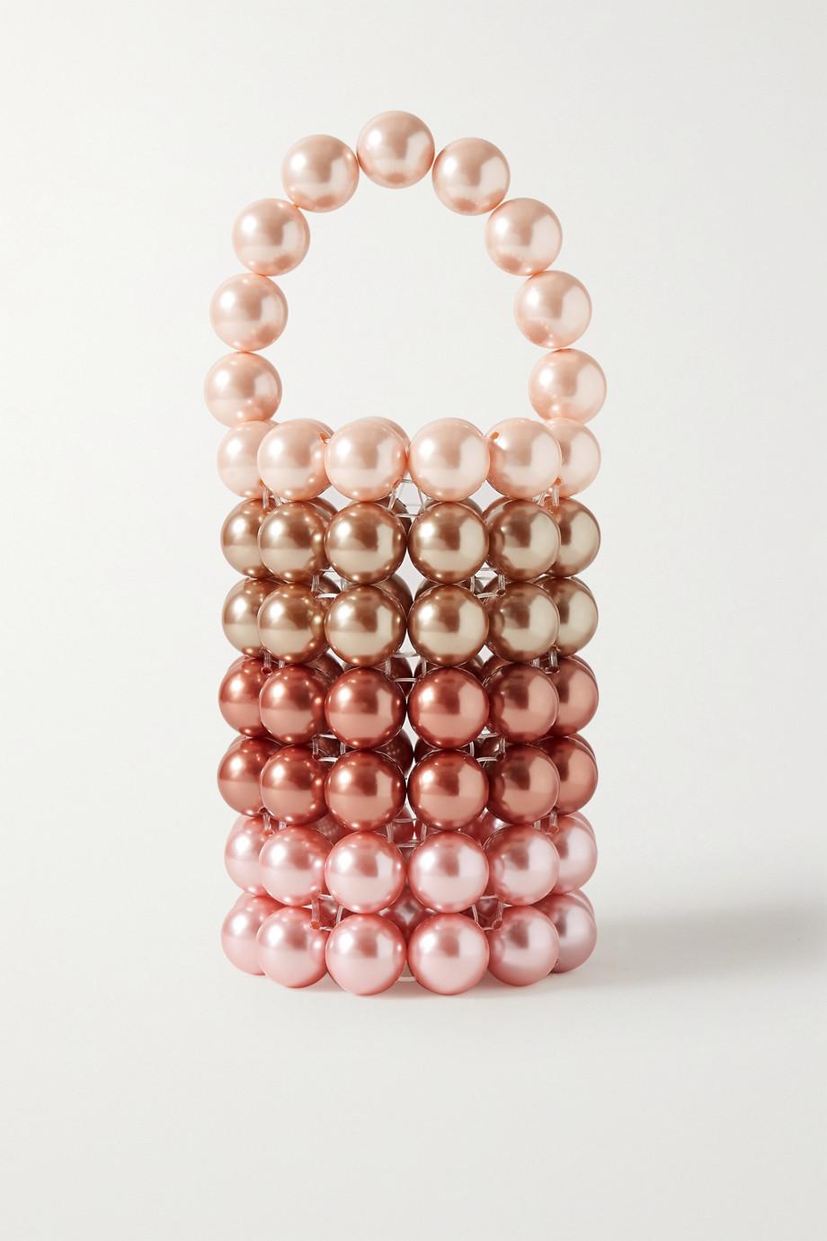Vanina Comino faux pearl tote