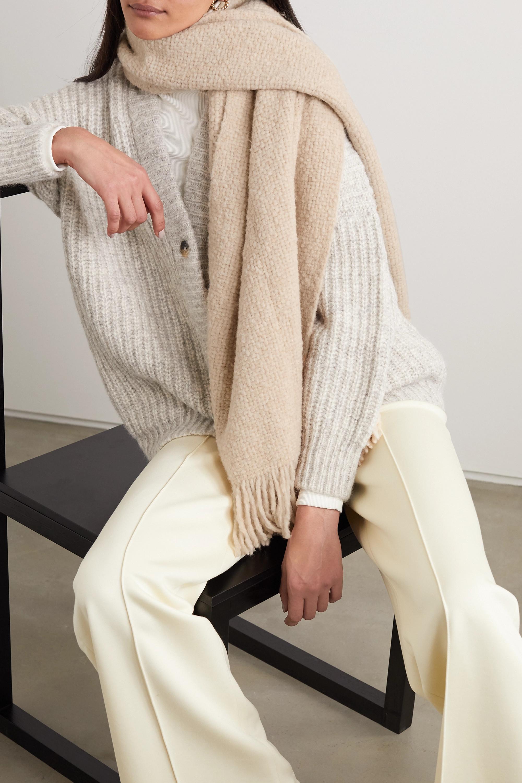 Lauren Manoogian Alpaca, wool and cotton-blend scarf