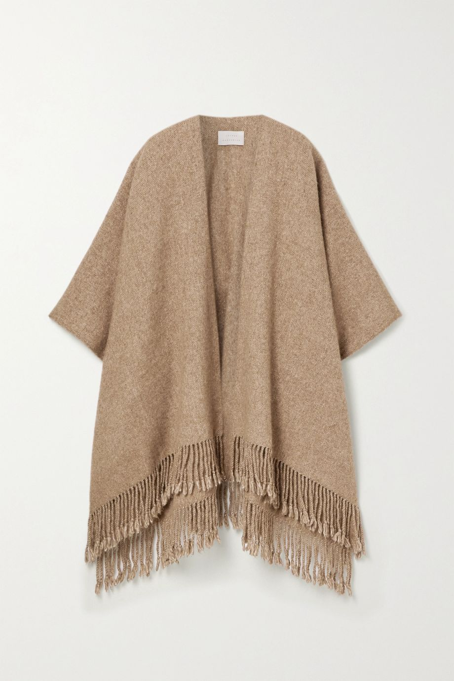Lauren Manoogian Fringed alpaca and Pima cotton-blend wrap