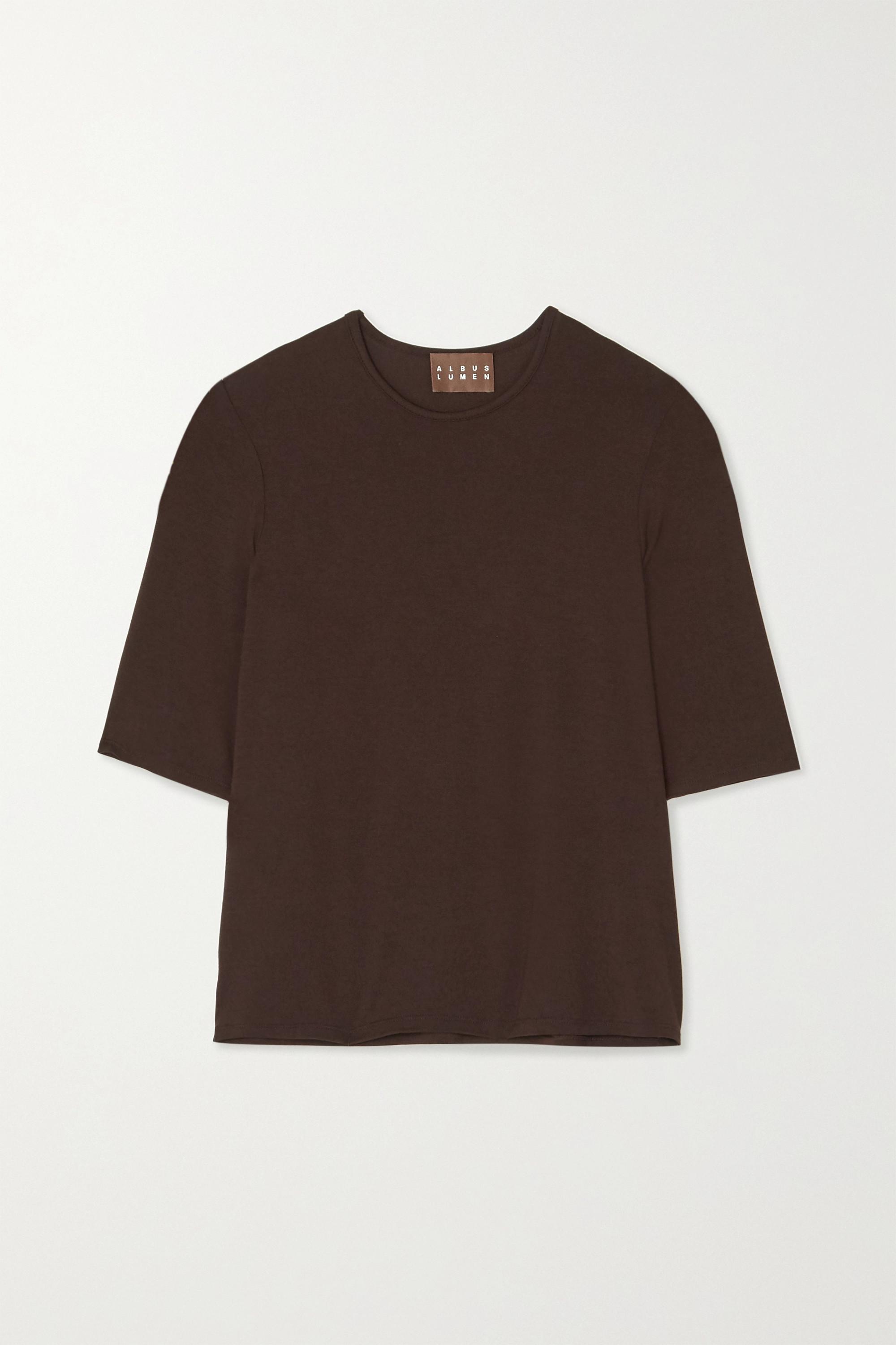 Albus Lumen Stretch-jersey T-shirt